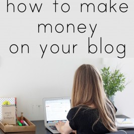How To Make Profits Off Your Blog
