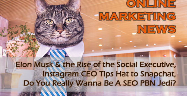 Elon Musk on Twitter, Instagram Tips Hat to Snapchat, Wanna Be A SEO PBN Jedi?