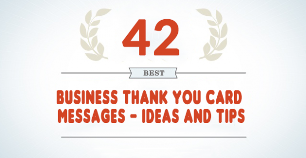 Business Thank You Card Messages